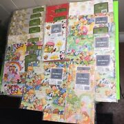 Vintage Ambassador Sealed Gift Wrapping Paper Lot Of 20 Packs 1970s New Unopened