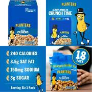 Planters Salted Cashews 1.5 Oz. Bags 18 Pack | Individually Packed Snacks On