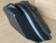 7down 14back Stretch Bags/fenderlids Included For Touring Bikes 2013-2018 Flh