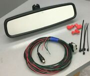 Ford Oem Auto Dim Rvd Backup Camera Display Rear View Mirror And Installation Kit