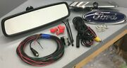 Ford Rvd Backup Camera Rearview Mirror And Ford Oval Camera F150 Super Duty Flex