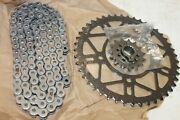 New Rk 520 Chain Kit For 2014-2018 Ducati Monster 821 Front And Rear Sprockets