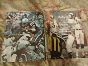 1972 And 1974 Philadelphia Eagles Yearbook Nfl Pro Football Eagle One And Eagle 3 Ex