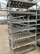 Lot Industrial Greenhouse Warehouse Pull Carts Casters Boltless Portable Trolly