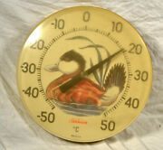 Vintage Sunbeam Duck Thermometer /wall Hanging/ Centigrade