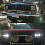 210w 5x7and039and039 7x6and039and039 Led Headlight Hi-low Beam Halo Drl Ip68 For Jeep Cherokee Xj Yj
