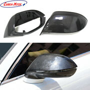 3k Carbon Fiber Mirror Cover For Audi A7 S7 Side Wing Casing Shell Caps 2011-18