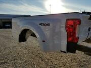 2017-2019 Ford F350 White New Take Off Dually Bed W/lights No Gate Superduty