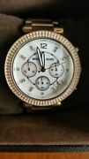 Parker 39mm Rose Gold-tone Stainless Steel Watch For Women Mk5491