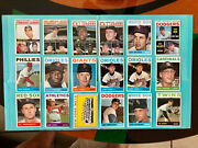 1964 Topps Baseball, 104 Cards, Pick And Choose Or Buy The Whole Lot. Most Ex-mt