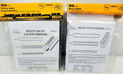 1a Pair Of Central Valley Models Heavy Duty Girders 1901-5 And 1900-5 New Sealed