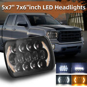 210w 5x7and039and039 7x6and039and039 Led Headlight Hi-low Beam Halo Drl For Jeep Cherokee Xj A Pair