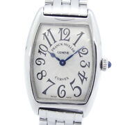 Franck Muller 1752qz Casablanca Watches Stainless Steel Women Silverdial