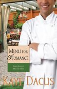 Menu For Romance Love Heats Up For The Chef And The Party Planner By Kaye...