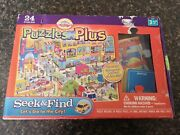 Cranium Puzzles Plus Seek And Find Letand039s Go To The City Complete