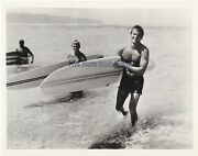 Ride The Wild Surf-fabian/tab Hunter/bare Chested/surfing-tv Photo-1967
