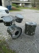 Rogers Holiday Drums Urban Pittsburgh Find 4 Pc Project