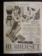 1921 Rubberset Shaving Brush Hair Nail And Tooth Advertisement