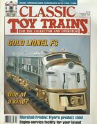Classic Toy Trains Mar 1994 Lionel Streamlined Passenger Sets 1955-1958 G793a