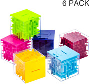 6 Pack Money Maze Puzzle Gift Boxes A Fun Unique Way To Give Gifts For People Y