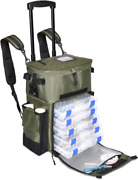 The X-large 'recon' Rolling Fishing Backpack, Tackle Box Storage Bag - Non-corro