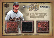 2006 Artifacts Mlb Game-used Apparel Silver Limited Nick Swisher Jersey /250