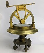 Antique Theodolite By Thomas Harris And Son London - C19th Superb Quality Brass