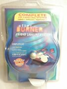 After Burner Cd/dvd Labeling System New Complete With Labels, Software And Applic.