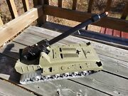 Vintage Ideal Mobile Cannon Tank W/original Box And 4 Rubber Tip Missiles