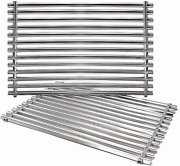 Grill Cooking Grid Grates 2-pack 15 304 Stainless Steel For Weber Spirit E210