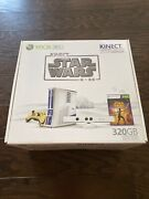 New Sealed Microsoft Xbox 360 320gb Kinect Star Wars Limited Edition