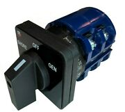 Blue Sea 9011 Ship-to- Shore Replacement Switch Off + 2 Position 2 Pole 65 Amp