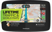 Tomtom Go 620 6-inch Gps Navigation Device With Free Lifetime Traffic And World...