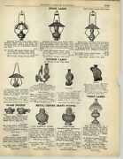 1928 Paper Ad Store Monmouth Ceiling Lamps Light Fixture Glass Shades
