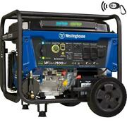 Westinghouse 9,500-w Portable Dual Fuel Gas Powered Generator With Remote Start
