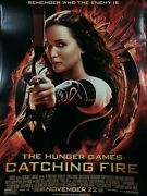 The Hunger Games Catching Fire Movie Poster 27x40 Original 2-sided