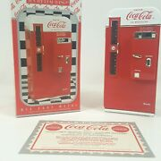 Coca-cola Collectible Musical Bank 1994 Die-cast Metal Itand039s The Real Thing