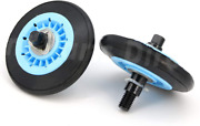 Dc97-16782a Pack Of 2 Samsung Dryer Drum Support Roller Axle Kit Replaces Dc9