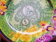 Versace Floralia D.v. Wall Plate Limited Edition Rosenthal 12 New Rare Sale