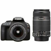 Near Mint Canon Eos Kiss X7 With Ef-s 18-55mm + Ef-s 55-250mm - 1 Year Warranty