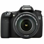 Near Mint Canon Eos 70d With Ef-s 18-135mm Is Stm - 1 Year Warranty