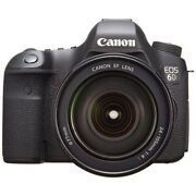 Near Mint Canon Eos 6d With Ef 24-105mm F/4l Is Usm - 1 Year Warranty