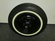 1963 Corvette Spare Wheel And Tire Gm Bf Goodrich Silvertown One Inch Whitewall