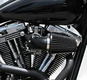 Black Screaming Eagle Style Pro Force Air Cleaner Sands Carbs Harley Motors