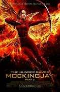 The Hunger Games Mockingjay - Part Two Movie Poster 27x40 Original 2-sided