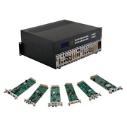 Build Your Own 4k Modular Hdmi Matrix Switcher Or Splitter With 9x9 Chassis