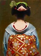 The Last Geisha Sublime Masterpiece From Private Collection