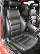 1984-1989 For Nissan 300zx / Z31 Leather Replacement Seat Covers Black