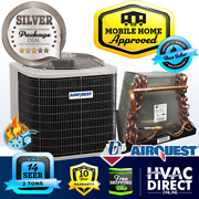 2 Ton 14 Seer Mobile Home Airquest-heil By Carrier Heat Pump A/c And Coil