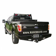 Ranch Hand Sport Back Bumper Lighted W/ Sensor Plugs For Ford F-150 2009-2014